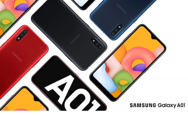 Everything about Galaxy A01: Specs, price and release in Botswana-1